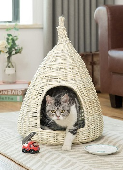 BEST WILLOW CAT BED TOWER