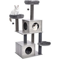 BEST WITHOUT CARPET ADULT CAT TREE summary
