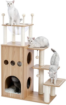 BEST WITHOUT CARPET AESTHETIC CAT TREE