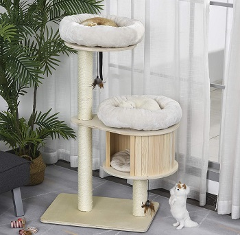 BEST WITHOUT CARPET BOHO CAT TREE