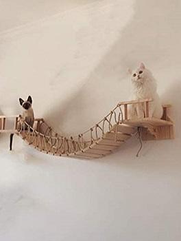 BEST WOODEN CAT JUNGLE GYM WALL