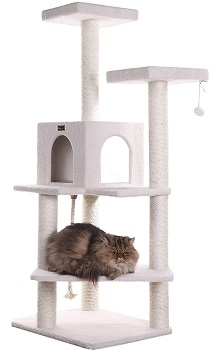 BEST WOODEN CAT TOWER FOR FAT CATS