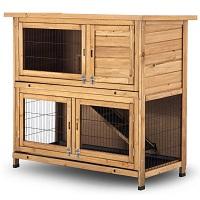 BEST WOODEN HUTCH FOR 2 RABBITS summary