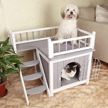 BEST WOODEN UNDER STAIRS DOG CAGE
