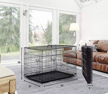 BestPet Wire Dog Crate