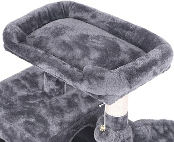 Bewishome Large Cat Scratching Post Bed