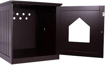 Birdrock Decorative House Table Litter Box