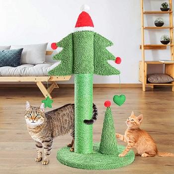Boluo Christmas Tree Cat Toy
