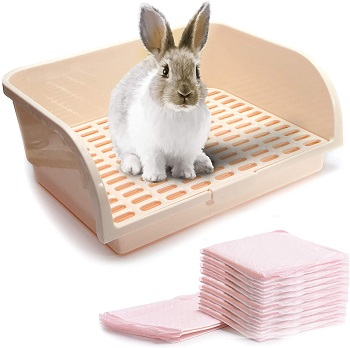 CalPalmy Large Rabbit Litter Box