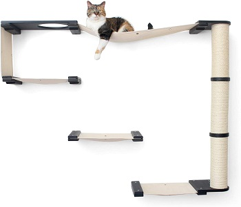 CatastrophiCreations Cat Climber Tower Shelves