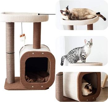 Catry Condo Perch Post Cat Tree