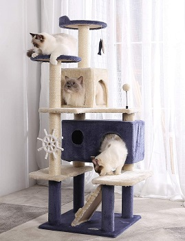 Hyabi Cat Tree Tower