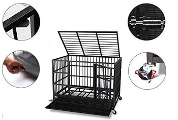 Itori Heavy Duty Metal Dog Cage
