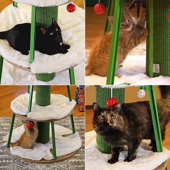 Kitty City Cat Bed Christmas Tree