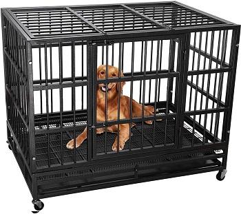 Lemberi Heavy Duty Dog Cage