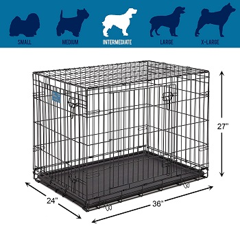 Life Stages Folding Dog Crate