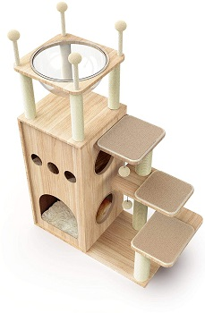 Made4Pets Cat Tree With Bed On Top
