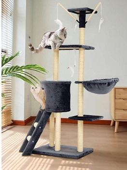 Mellcom Cat Toy Tree House