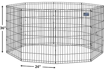 MidWest Folding Metal Exercise Pen
