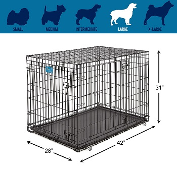 MidWest Life Stages Folding Crate