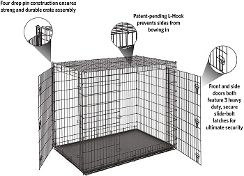 Midwest Ginormus Dog Crate