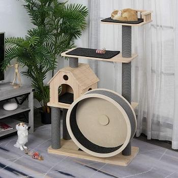 PawHut Activity Indoor Cat Furniture