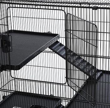 Pawhut 4 Levels Rabbit Cage