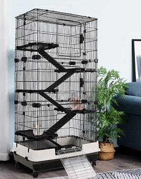 Pawhut 6 Levels Rabbit Cage
