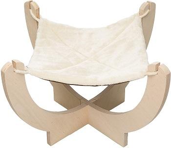 Pawmona Cat Hammock Bed Natural Materials
