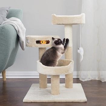 Petmaker Tree Tier Kitten Tower