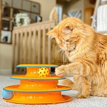 Petstages 3-Tier Cat Toy