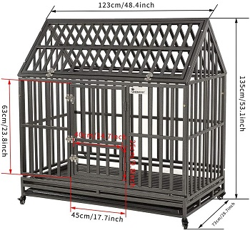 Smonter Heavy Duty Dog Cage House