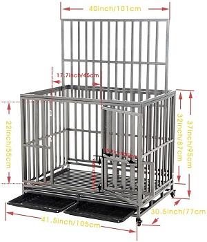 Smonter Strong Metal Dog Cage