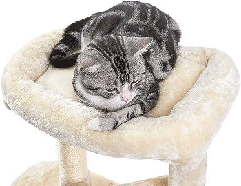 Superjare Fully-Equipped Cat Tree