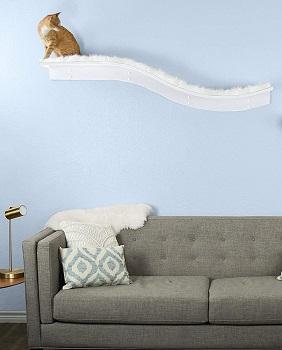 The Refined Feline Floating Shelves Cat Tree