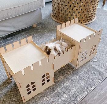 Tokihut Wooden Rabbit House