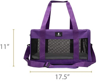 X-ZONE PET Soft-Sided Pet Travel Carrier