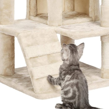 Yaheetech 51in Cat Tree Tower House Play