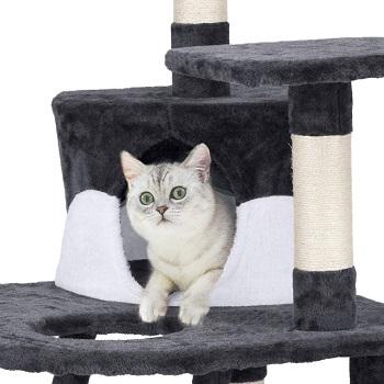 Yaheetech Cat Tree Tower Condo Scratcher