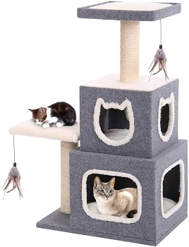 BEST CARPETED 2 STORY CAT CONDO