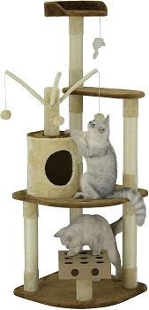 BEST CORNER 60 INCH CAT TREE