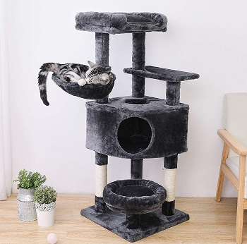 BEST CORNER CAT TREE BASKET
