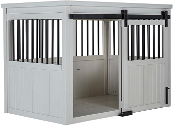 BEST EXTRA LARGE CREDENZA DOG CRATE