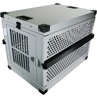 BEST FOLDING CRASH SAFE DOG CRATE Summary