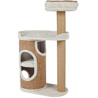 BEST FOR LARGE CATS 2 STORY CAT CONDO summary
