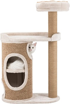 BEST FOR LARGE CATS 2 STORY CAT CONDO