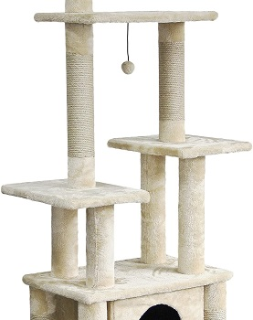 BEST FOR LARGE CATS 6 FT CAT TREE