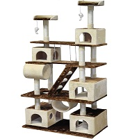 BEST FOR LARGE CATS AMAZING CAT TREE summary