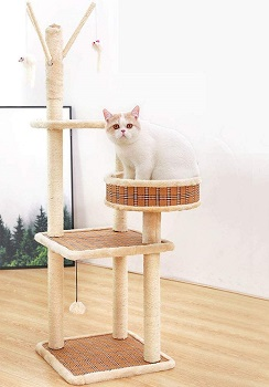 BEST FOR LARGE CATS ARTISTIC TREE