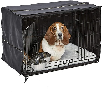 BEST FOR PUPPIES 36 INCH CRATE WITH DIVIDER